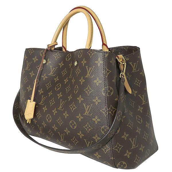 Louis Vuitton(루이비통) M41067 모노그램 캔버스 몽테뉴 GM 토트백 + 숄더스트랩 2WAY [대전본점] 이미지3 - 고이비토 중고명품