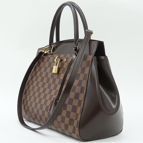 Louis Vuitton(루이비통) N41150 다미에 에벤 캔버스 RIVOLI(리볼리) MM 토트백+숄더스트랩 [강남본점] 이미지3 - 고이비토 중고명품