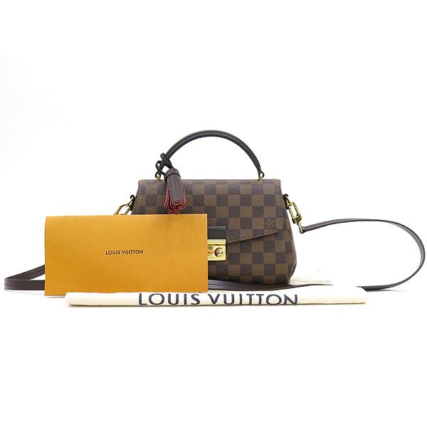 Louis Vuitton(루이비통) N53000 다미에 에벤 캔버스 Croisette 크로아젯 토트백 + 숄더스트랩 2WAY [강남본점]