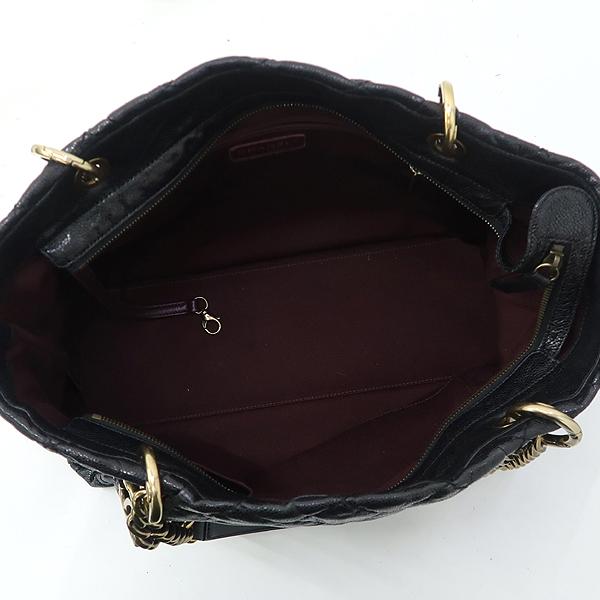 Chanel(샤넬) 블랙 캐비어 금장 COCO 참장식 체인 숄더백 [강남본점] 이미지5 - 고이비토 중고명품