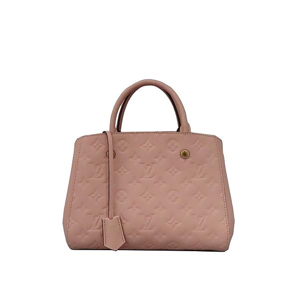 Louis Vuitton(루이비통) M44123 모노그램 앙프렝뜨 로즈 파우더(Rose Poudre) 몽테뉴 BB 미니 토트백 + 스트랩 2WAY [대구황금점] 이미지2 - 고이비토 중고명품