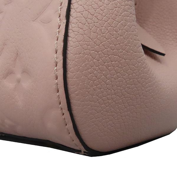 Louis Vuitton(루이비통) M44123 모노그램 앙프렝뜨 로즈 파우더(Rose Poudre) 몽테뉴 BB 미니 토트백 + 스트랩 2WAY [대구황금점] 이미지4 - 고이비토 중고명품