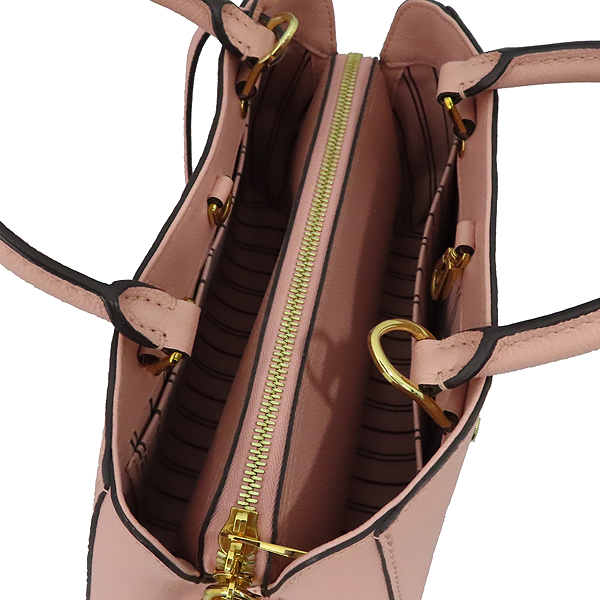 Louis Vuitton(루이비통) M44123 모노그램 앙프렝뜨 로즈 파우더(Rose Poudre) 몽테뉴 BB 미니 토트백 + 스트랩 2WAY [대구황금점] 이미지5 - 고이비토 중고명품