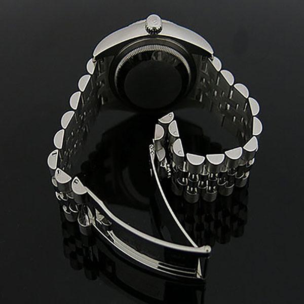 Rolex(로렉스) 116234 DATE JUST 데이트저스트 36MM 블랙 다이얼 10포인트 다이아 스틸 쥬빌레 브레이슬릿 남성용 시계 [대구동성로점] 이미지4 - 고이비토 중고명품