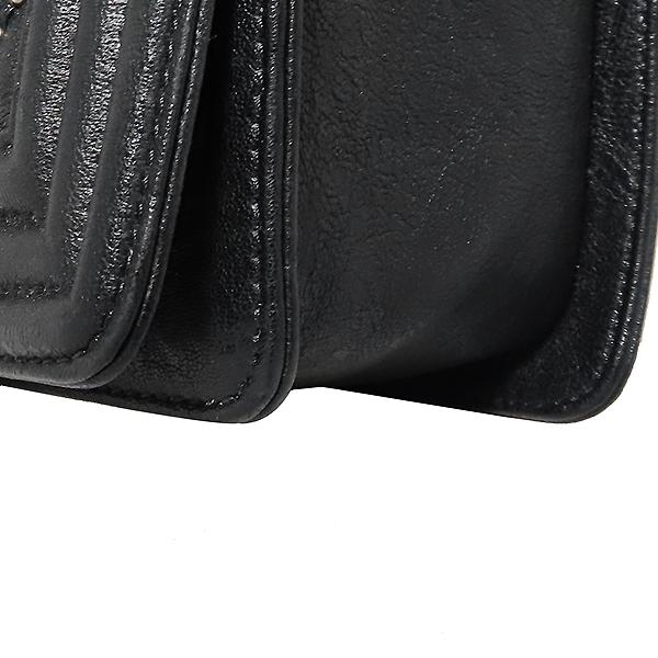 Chanel(샤넬) A67086 블랙 램스킨 보이샤넬 S사이즈 빈티지 체인 숄더백 [대전본점] 이미지5 - 고이비토 중고명품