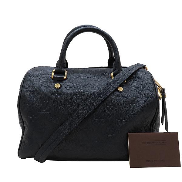 Louis Vuitton(루이비통) M40762 모노그램 앙프렝트 스피디 반둘리에 25 토트백+숄더 스트랩 [인천점]