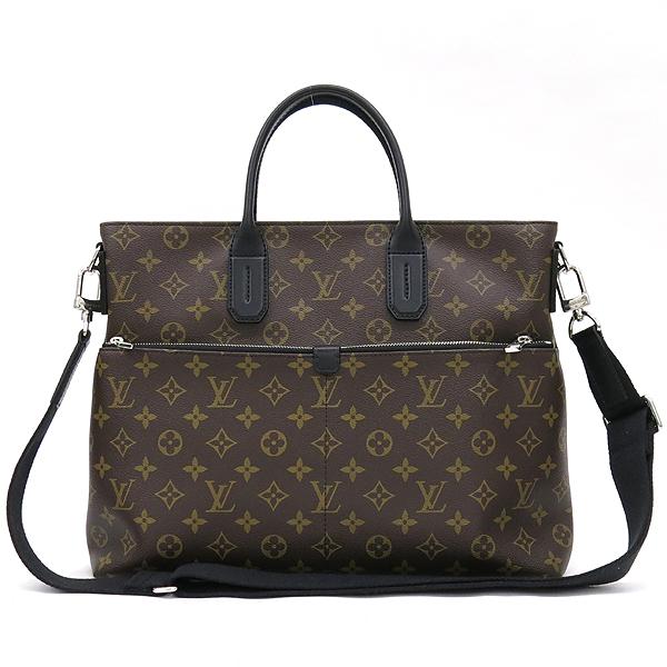 Louis Vuitton(루이비통) M61288 모노그램 마카사르 세븐 데이즈 어위크 서류가방 + 숄더 스트랩 [강남본점] 이미지2 - 고이비토 중고명품
