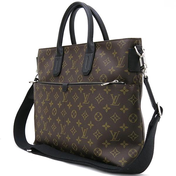 Louis Vuitton(루이비통) M61288 모노그램 마카사르 세븐 데이즈 어위크 서류가방 + 숄더 스트랩 [강남본점] 이미지3 - 고이비토 중고명품