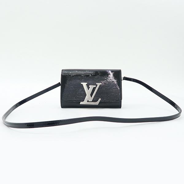 Louis Vuitton(루이비통) M41627 에삐 블랙 페이던트 루이즈 PM 클러치 겸 크로스백 [잠실점] 이미지2 - 고이비토 중고명품