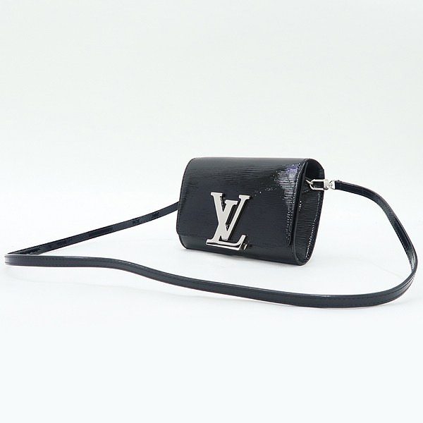 Louis Vuitton(루이비통) M41627 에삐 블랙 페이던트 루이즈 PM 클러치 겸 크로스백 [잠실점] 이미지3 - 고이비토 중고명품