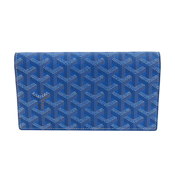 GOYARD(고야드) RICHLIEU(리슐리유) 스페셜 블루 컬러 PVC 레더 장지갑 [부산센텀본점] 이미지2 - 고이비토 중고명품