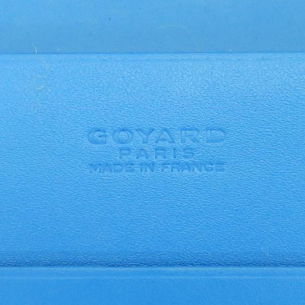 GOYARD(고야드) RICHLIEU(리슐리유) 스페셜 블루 컬러 PVC 레더 장지갑 [부산센텀본점] 이미지6 - 고이비토 중고명품