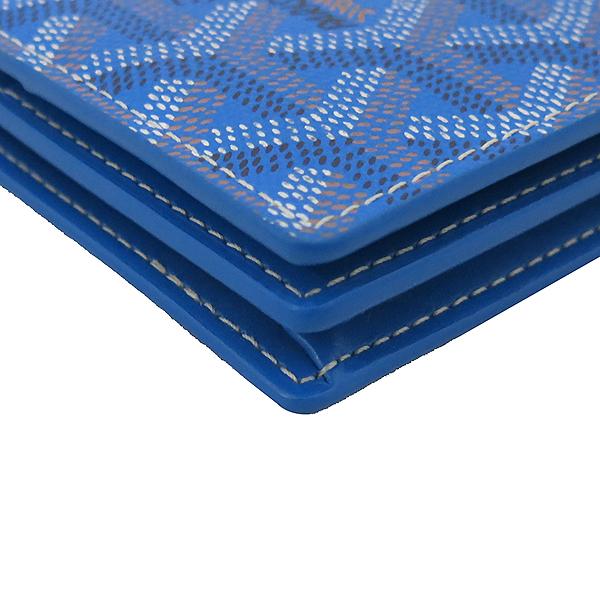 GOYARD(고야드) RICHLIEU(리슐리유) 스페셜 블루 컬러 PVC 레더 장지갑 [부산센텀본점] 이미지7 - 고이비토 중고명품