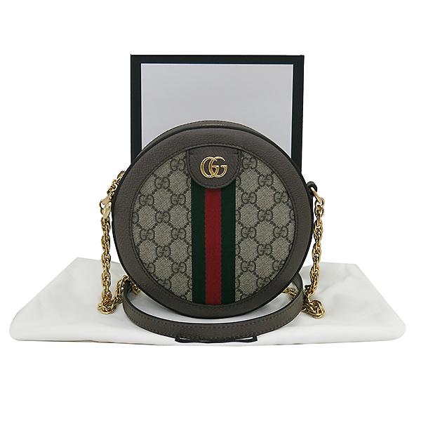 Gucci(구찌) 550618 오피디아 미니 GG 라운드 크로스백 [부산센텀본점]