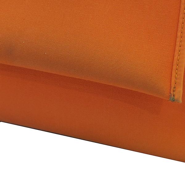 Hermes(에르메스) 에르라인 오렌지 패브릭 브라운 레더 에르짚 에르백 PM 2WAY + 보조파우치 [부산센텀본점] 이미지5 - 고이비토 중고명품