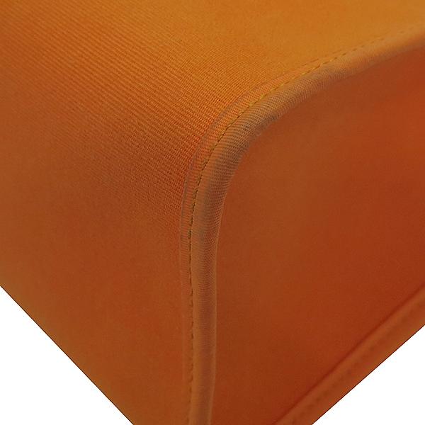 Hermes(에르메스) 에르라인 오렌지 패브릭 브라운 레더 에르짚 에르백 PM 2WAY + 보조파우치 [부산센텀본점] 이미지6 - 고이비토 중고명품