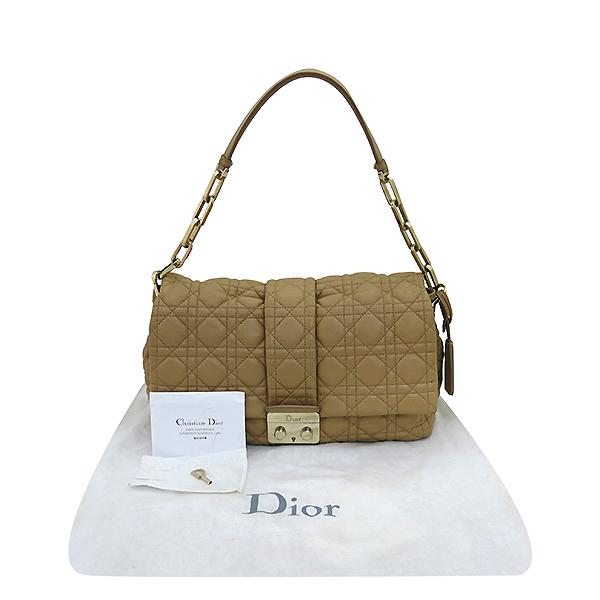 Dior(크리스챤디올) M9803PSSQ 금장 브라운 램스킨 뉴 록 체인 숄더백 [부산센텀본점]