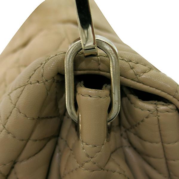 Dior(크리스챤디올) M9803PSSQ 금장 브라운 램스킨 뉴 록 체인 숄더백 [부산센텀본점] 이미지5 - 고이비토 중고명품