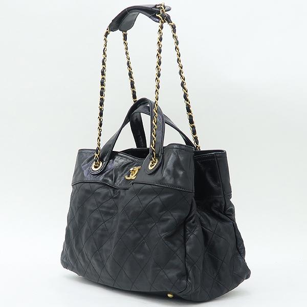 Chanel(샤넬) 시즌컬렉션 IN THE MIX(인더믹스) 램스킨 블랙컬러 퀼팅 스티치 금장 체인 2WAY [강남본점] 이미지3 - 고이비토 중고명품