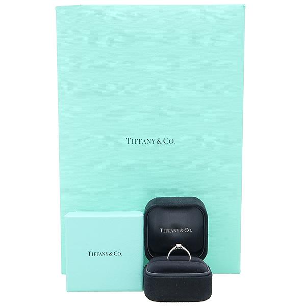 Tiffany(티파니) PT950(플레티늄) 0.31CT(캐럿) I컬러 VS1 다이아 웨딩 반지 - 7호 [강남본점]