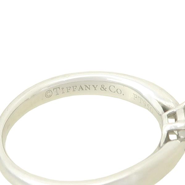 Tiffany(티파니) PT950(플레티늄) 0.31CT(캐럿) I컬러 VS1 다이아 웨딩 반지 - 7호 [강남본점] 이미지3 - 고이비토 중고명품