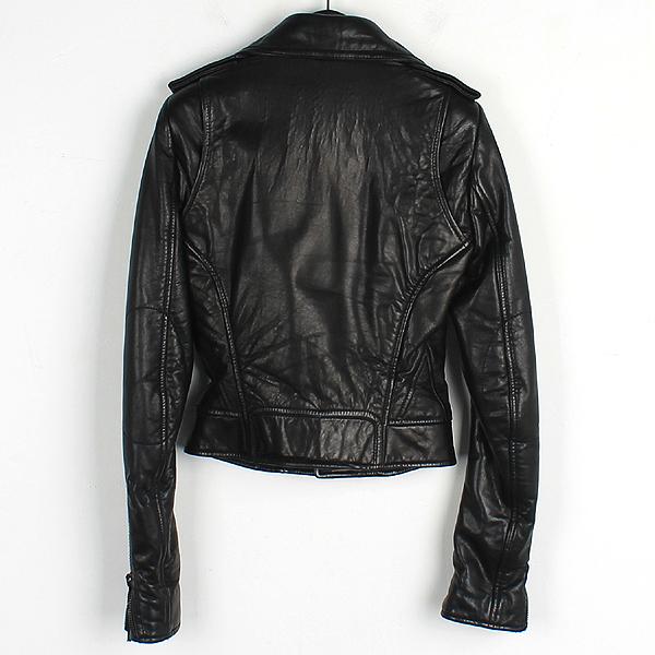 Balenciaga(발렌시아가) 180174 블랙 램스킨 여성용 라이더 자켓 [강남본점] 이미지3 - 고이비토 중고명품
