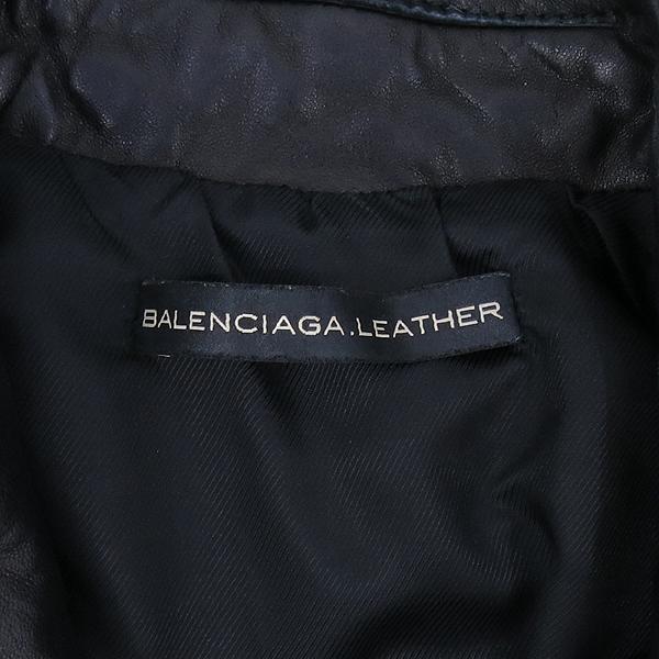 Balenciaga(발렌시아가) 180174 블랙 램스킨 여성용 라이더 자켓 [강남본점] 이미지4 - 고이비토 중고명품