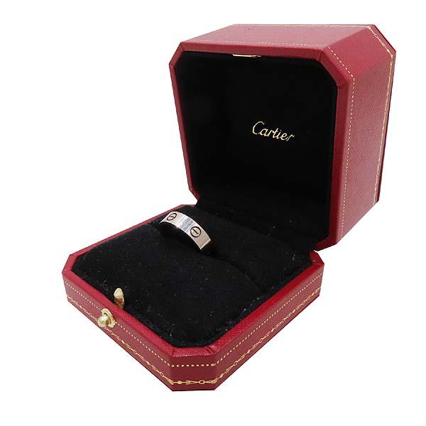 Cartier(까르띠에) B4084759 18K 화이트골드 러브링 반지 - 19호 [인천점] 이미지2 - 고이비토 중고명품