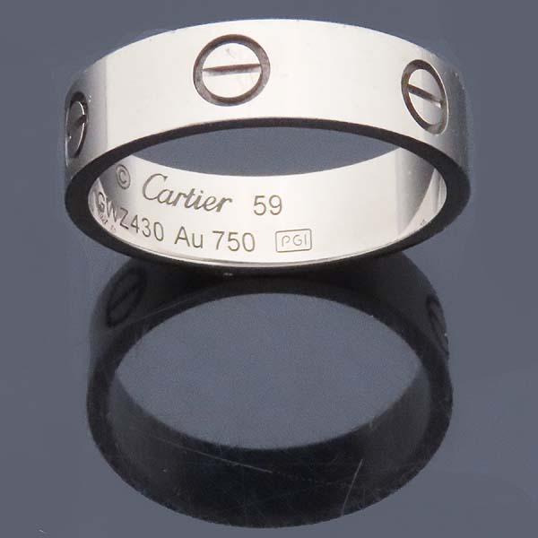 Cartier(까르띠에) B4084759 18K 화이트골드 러브링 반지 - 19호 [인천점] 이미지3 - 고이비토 중고명품