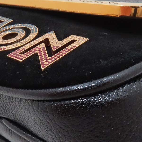 Louis Vuitton(루이비통) M97093 블랙 스웨이드 레더 한정판 금장 체인 로고 장식 이브닝 아방가르드 클러치 겸 숄더백 [인천점] 이미지5 - 고이비토 중고명품
