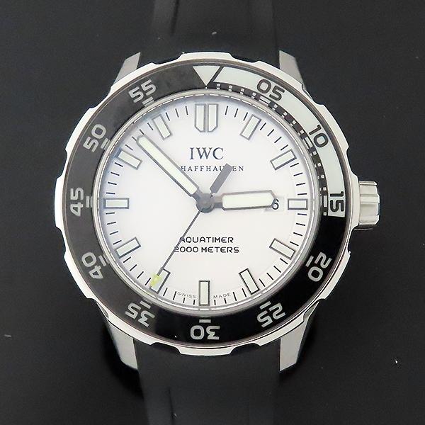 IWC(아이더블유씨) IW356811 AQUATIMER(아쿠아타이머) 화이트 다이얼 오토매틱 42MM 러버밴드 남성용 시계 [대전본점] 이미지2 - 고이비토 중고명품