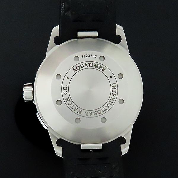 IWC(아이더블유씨) IW356811 AQUATIMER(아쿠아타이머) 화이트 다이얼 오토매틱 42MM 러버밴드 남성용 시계 [대전본점] 이미지4 - 고이비토 중고명품