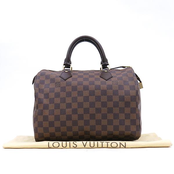 Louis Vuitton(루이비통) N41531 다미에 에벤 캔버스 스피디 30 토트백 [강남본점]