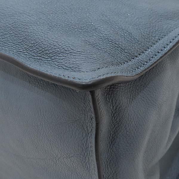 Prada(프라다) 1BG122 GLACE CALF (글라세 카프) MARINE ASTRA 컬러 에티켓 스퀘어 쇼퍼 숄더백 [인천점] 이미지5 - 고이비토 중고명품