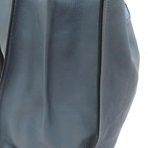 Prada(프라다) 1BG122 GLACE CALF (글라세 카프) MARINE ASTRA 컬러 에티켓 스퀘어 쇼퍼 숄더백 [인천점] 이미지6 - 고이비토 중고명품