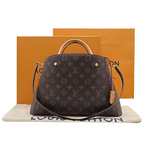 Louis Vuitton(루이비통) M41056 모노그램 캔버스 몽테뉴 MM 토트백 + 숄더스트랩 2WAY [인천점]