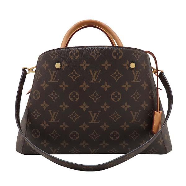 Louis Vuitton(루이비통) M41056 모노그램 캔버스 몽테뉴 MM 토트백 + 숄더스트랩 2WAY [인천점] 이미지2 - 고이비토 중고명품