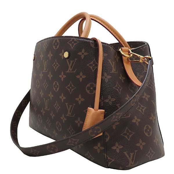 Louis Vuitton(루이비통) M41056 모노그램 캔버스 몽테뉴 MM 토트백 + 숄더스트랩 2WAY [인천점] 이미지3 - 고이비토 중고명품
