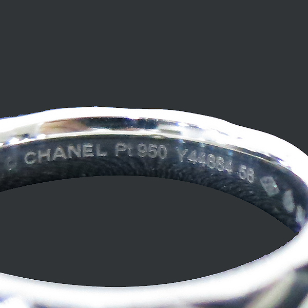Chanel(샤넬) J282256 PT950 마트라쎄 1포인트 다이아 반지 - 16호 [부산센텀본점] 이미지5 - 고이비토 중고명품