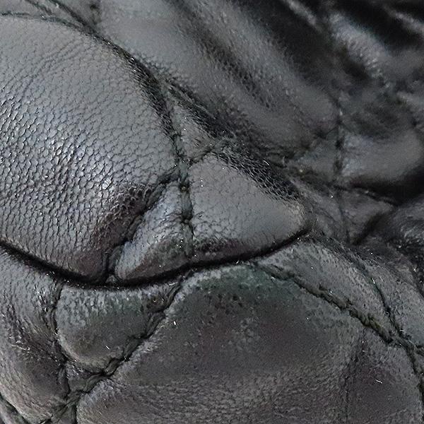 Dior(크리스챤디올) M9803PVRK 블랙 램스킨 디올 뉴 록 은장 체인 숄더백 [부산서면롯데점] 이미지5 - 고이비토 중고명품