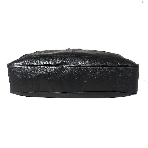 Balenciaga(발렌시아가) 340134 블랙 레더 클래식 브리프케이스 토트백 겸 크로스백 [대전본점] 이미지3 - 고이비토 중고명품