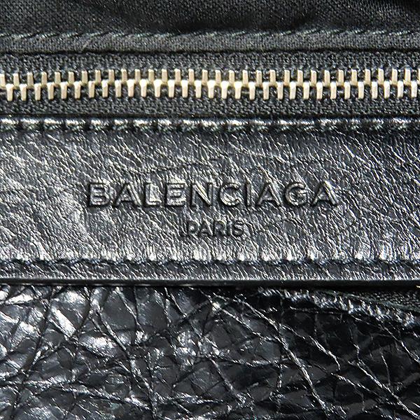 Balenciaga(발렌시아가) 340134 블랙 레더 클래식 브리프케이스 토트백 겸 크로스백 [대전본점] 이미지5 - 고이비토 중고명품