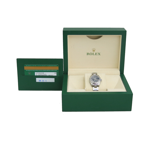 Rolex(로렉스) 179160 DATE JUST(데이저스트) 블랙 다이얼 로만 스틸 여성용 시계 [동대문점]