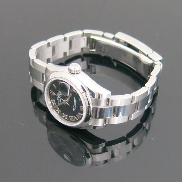 Rolex(로렉스) 179160 DATE JUST(데이저스트) 블랙 다이얼 로만 스틸 여성용 시계 [동대문점] 이미지3 - 고이비토 중고명품