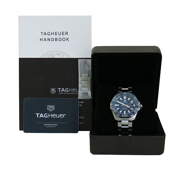 Tag Heuer(태그호이어) WAY211C AQUARACER (아쿠아레이서) CALIBER 5 (칼리버 5) 41MM 오토메틱 스틸 남성용 시계 [대구동성로점]