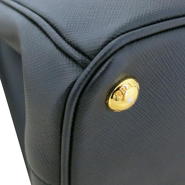 Prada(프라다) 1BA863 SAFFIANO LUX NERO 블랙 사피아노 럭스 더블지퍼 골드메탈 로고 디테일 토트백 + 숄더스트랩 2WAY [대구동성로점] 이미지5 - 고이비토 중고명품