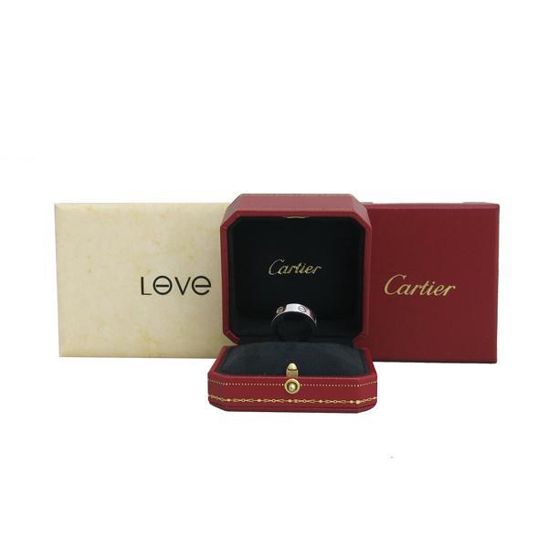 Cartier(까르띠에) B4084759 18K 화이트골드 러브링 반지 - 19호 [동대문점]