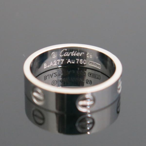 Cartier(까르띠에) B4084759 18K 화이트골드 러브링 반지 - 19호 [동대문점] 이미지3 - 고이비토 중고명품