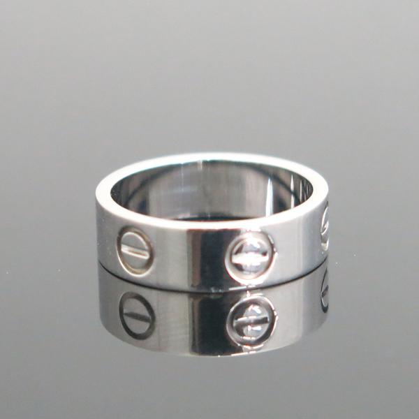 Cartier(까르띠에) B4084751 18K 화이트골드 러브링 반지 - 11호 [동대문점] 이미지2 - 고이비토 중고명품