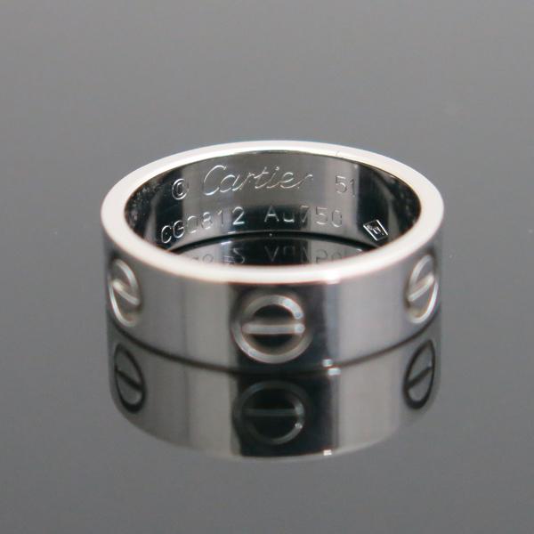 Cartier(까르띠에) B4084751 18K 화이트골드 러브링 반지 - 11호 [동대문점] 이미지3 - 고이비토 중고명품